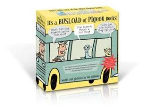 It's a Busload of Pigeon Books! by Mo Willems. Disney-Hyperion. 120 pp.
