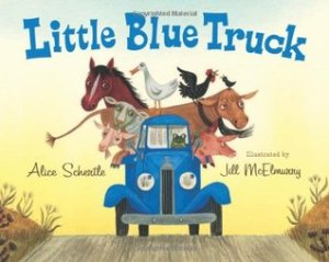 Little Blue Truck by Alice Shertle, illus. by Jill McElmurry. HMH Books for Young Readers. 32 pp.