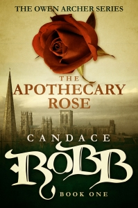 The Apothecary Rose by Candace Robb. Diversion Books. 313 pp.