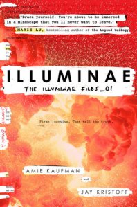 Illuminae by Amie Kaufman and Jay Kristoff. Knopf Books for Young Readers. 608 pp.